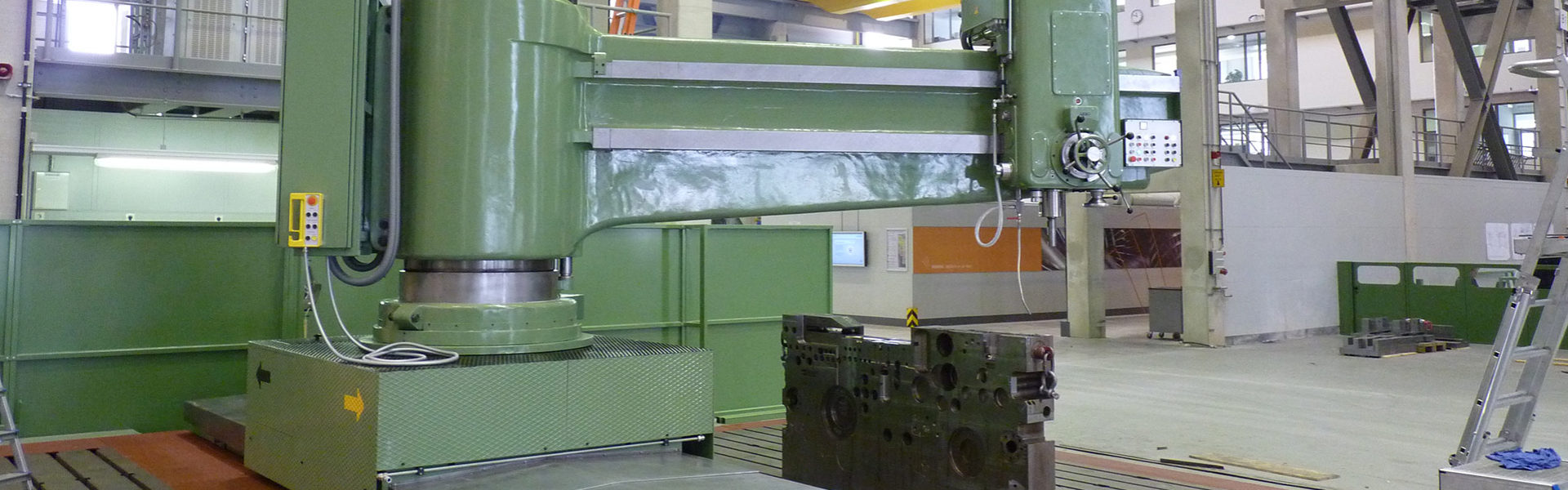 Radialbohrmaschine Headerbild